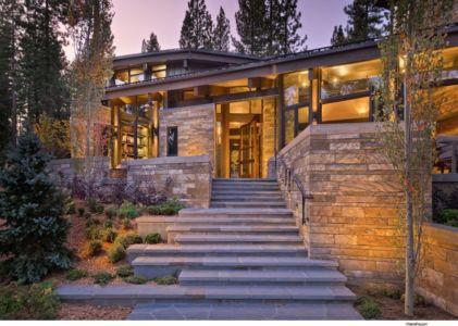 Escalier Extérieur - Valhalla Résidence par RKD Architects - Californie, USA