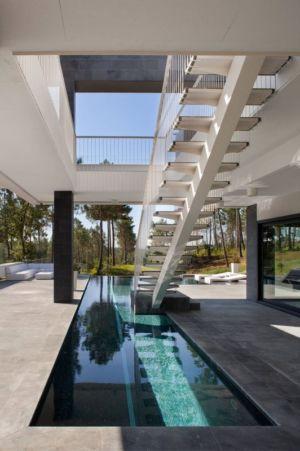 Escalier Extérieur - la-vinya par Lagula Arquitectes, Malavella, Espagne