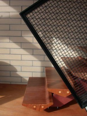 Escalier bois - Ellis Park House par Altius Architecture - Toronto, Canada