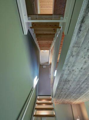 Escalier - SV-House Par Rocco Borromini - Albosaggia, Italie