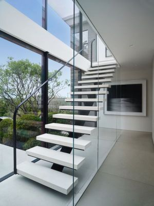 Escalier Balustrade En Verre Accès - Home-New York Par Stelle Lomont Rouhani - New York, USA
