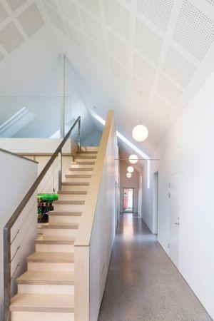 Escalier Bois Accès étage - Residence-Sellebakk Par Link Arkitektur - Sellebakk, Norvege