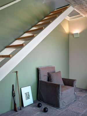 Escalier Bois Accès étage - SV-House Par Rocco Borromini - Albosaggia, Italie
