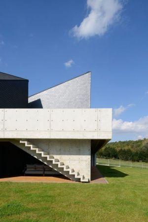Escalier Extérieur - House-Krostoszowice Par RS+ - Krostoszowice, Pologne