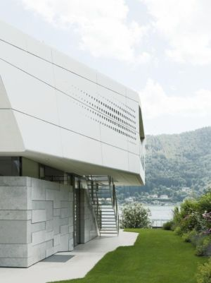 Escalier Extérieur - Lake-House-Portschach Par A01 Architects - Carinthie, Autriche