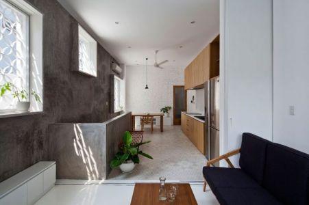 Espace Pièce De Vie - HEM-House Par Sanuki Daisuke - Ho Chi Minh, Vietnam