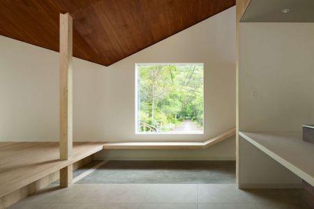 Espace Pièce Principale - Shed-Roof-House Par Hiroki Tominaga - Yamanashi, Japon