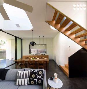 Espace Salle Séjour - Unfurled-House Par Christopher Polly Architect - Sydney, Australie
