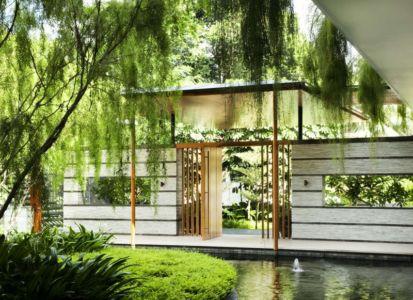 Etang & Entrée - Coral-House par Guz Architects, Singapour