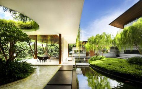 Etang d'Eau & Jardin - Coral-House par Guz Architects, Singapour