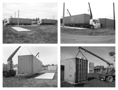 Etapes Construction - Container House par Schreibe Architect - Cordoba, Argentine.jpg