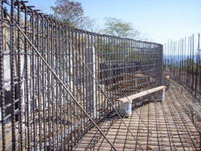 Etape1-pose Fondation - Casa Mariposa Conçue Par Arqflores - La Cruz De Huanacaxtle, Mexique
