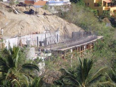 Etape3- Pose Armature Fer élevation - Casa Mariposa Conçue Par Arqflores - La Cruz De Huanacaxtle, Mexique