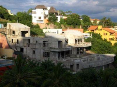 Etape5-Elevation Achevée - Casa Mariposa Conçue Par Arqflores - La Cruz De Huanacaxtle, Mexique