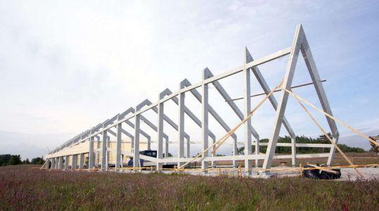 Etape Armature Charpente - Dune-House Par Archispektras - Lettonie