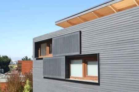 Façade Etage - House Cs par Alvaro Arancibia - Cachagua, Chili