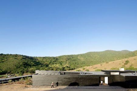 Façade Extérieure - houses-10-and-10-10 par Gonzalo Mardones - Tierras Blancas, Chilie