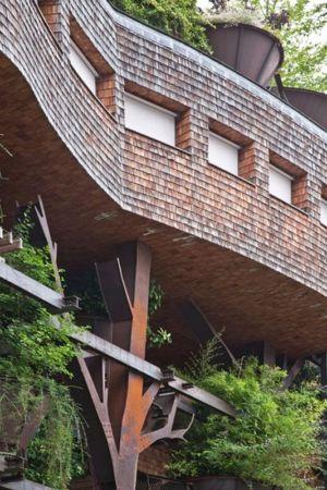 Façade Murale et Jardin - House Green par Luciano - Turin, Italie