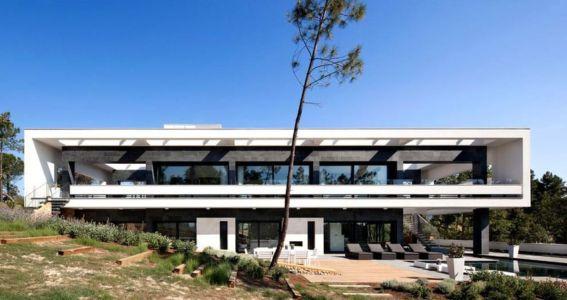 Façade Principale - la-vinya par Lagula Arquitectes, Malavella, Espagne