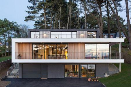Façade Principale - house-crozon par Pierre-yves Le Goaziou - Crozon, France