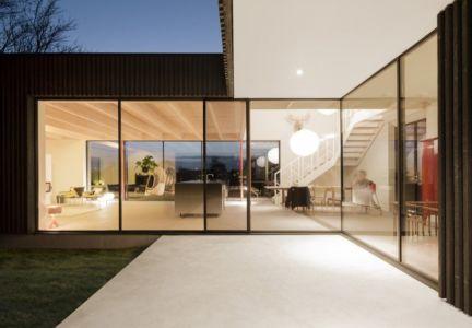 Façade Terrasse - huize-looveld par Studio Puisto Architects, Duiven, Pays-Bas