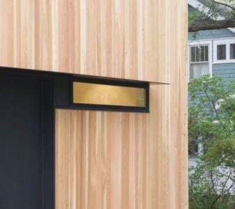 Façade bois & mini ouverture vitrée - Luminous-Home par D-O - Minnesota, USA