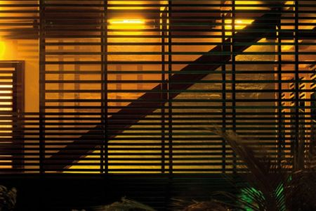 brise soleil de nuit - Casa Tropical par Camarim - Mundau, Brézil