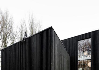 Façade hauteur - huize-looveld par Studio Puisto Architects, Duiven, Pays-Bas