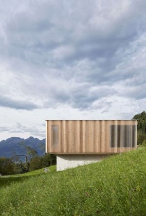 Façade jardin - Rock-House par Helena Weber - Vorarlberg, Autriche