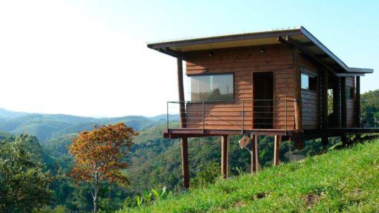 Façade principale - Small-House-Bliss par Cabana-Arquitetos - Brésil