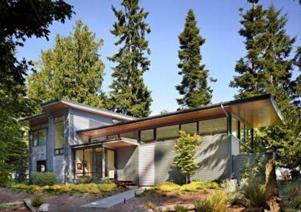 Façade principale - port-ludlow-house par Finne - Washington, USA