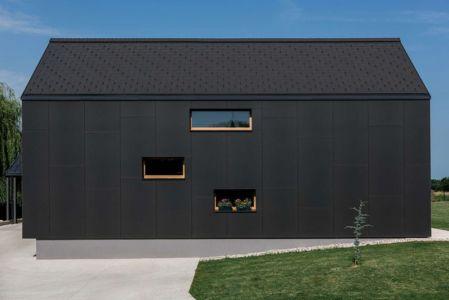 Façade Arrière Bois - Family-Villa-XL - Sono-Arhitekti - Slovenie