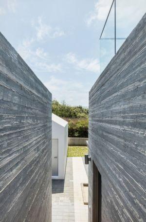 Façade Béton - House-Dongmang Par 2m2 Architects - Geoje, Coree Du Sud