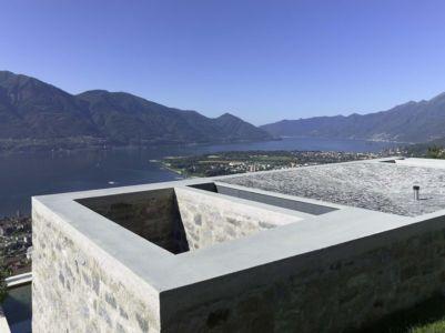 Façade Béton Toit - Building-Brione Par Meuron Romeo - Minusio, Suisse