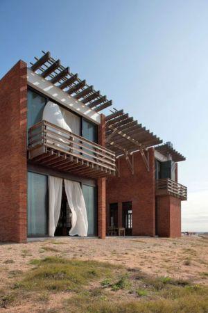 Façade Balcon - Luna-Llena-House Par Candida Tabet - Punta Del Este, Uruguay