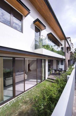 Façade Balcon Verdure étage - Spacious-Home Par ADX Architects - Singapour