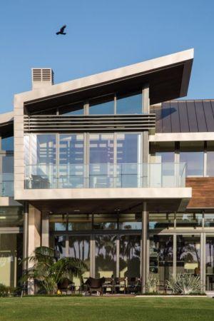 Façade Balcon Vitrée - Ballantrae Court Par Kz Architecture - Floride, USA