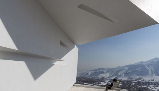 Façade Bloc Superposé & Vue Paysage - Mosha House Par New Wave-Architecture - Mosha, Iran