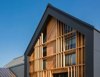 Façade Bois & Vitrée - Family-Villa-XL - Sono-Arhitekti - Slovenie