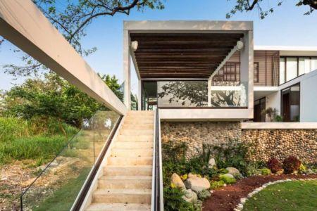 Façade Jardin - Casa-Guazuma Par Alberto-Zavala - Tabasco, Mexique