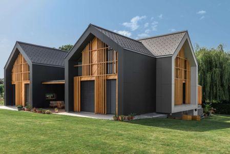 Façade Jardin - Family-Villa-XL - Sono-Arhitekti - Slovenie