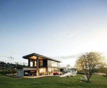 Façade Jardin - Fazenda-Boa-Vista Par Fernanda Marques Arquitetos - Porto Feliz, Bresil