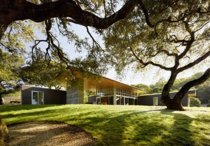 Façade Jardin - Home-Sonoma Par Turnbull Griffin Haesloop - Californie, USA