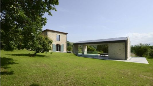 Façade Jardin - La-Capanna Par Cecchini Chiantelli - Capannori, Italie
