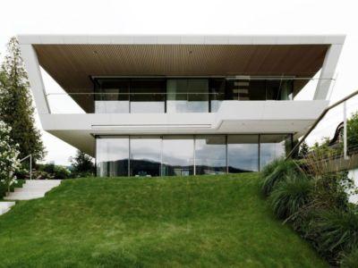 Façade Jardin - Lake-House-Portschach Par A01 Architects - Carinthie, Autriche