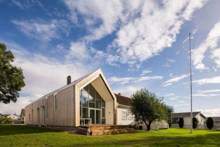Façade Jardin - Residence-Sellebakk Par Link Arkitektur - Sellebakk, Norvege