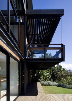 Façade Jardin - Surf-Road-House Par Nick Bell D-A - Whale Beach, Australie