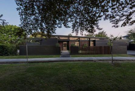 Façade Jardin Arrière - Bradnor-Road Par Cymon Allfrey Architects - Fendalton, Nouvelle-Zelande