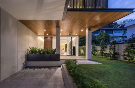Façade Jardin & Terrasse - Spacious-Home Par ADX Architects - Singapour