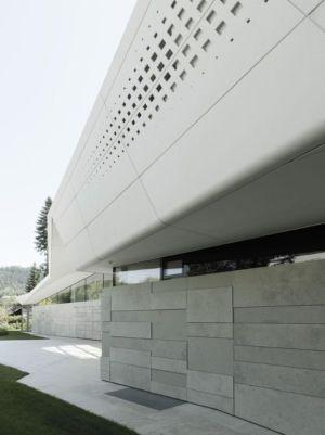Façade Murale Béton - Lake-House-Portschach Par A01 Architects - Carinthie, Autriche